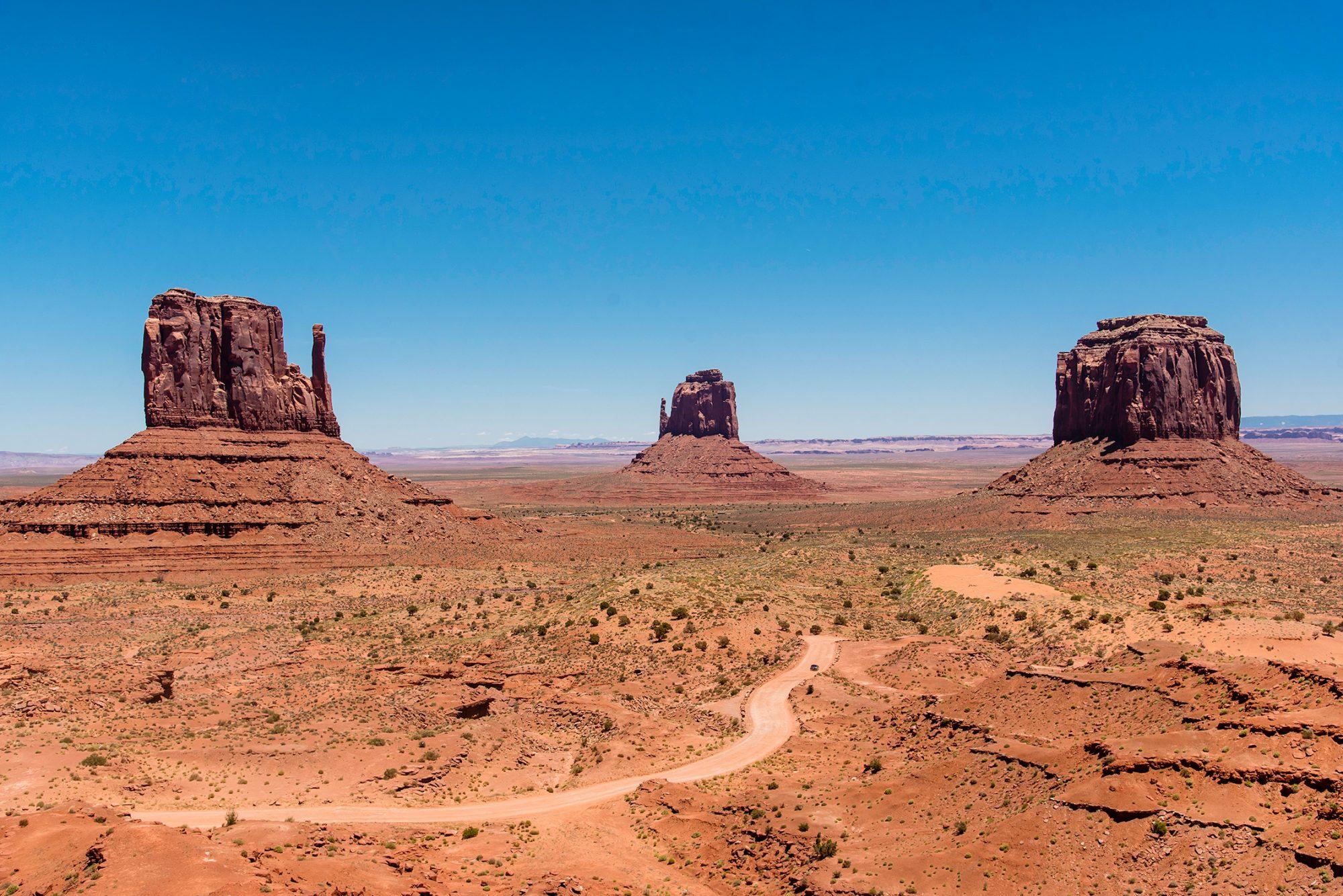 Kanion Antylopy, Monument Valley i inne